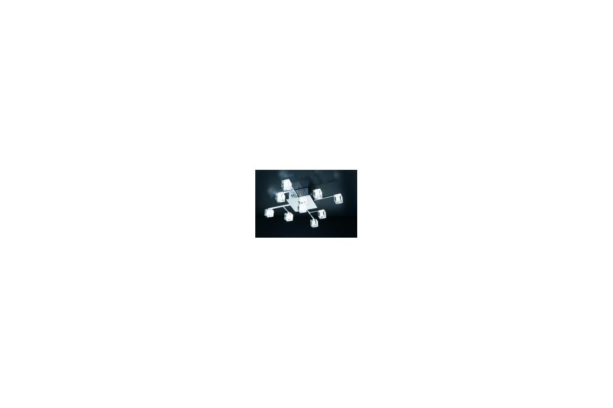 PLC Lighting PLC 36652 Nine Light Semi Flush Ceiling Light from the