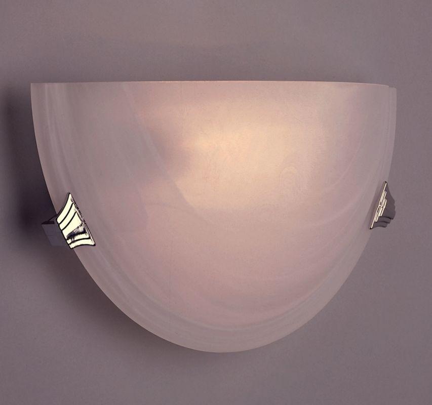 PLC Lighting 5112 PC Polished Chrome Contemporary Valencia Wall Sconce