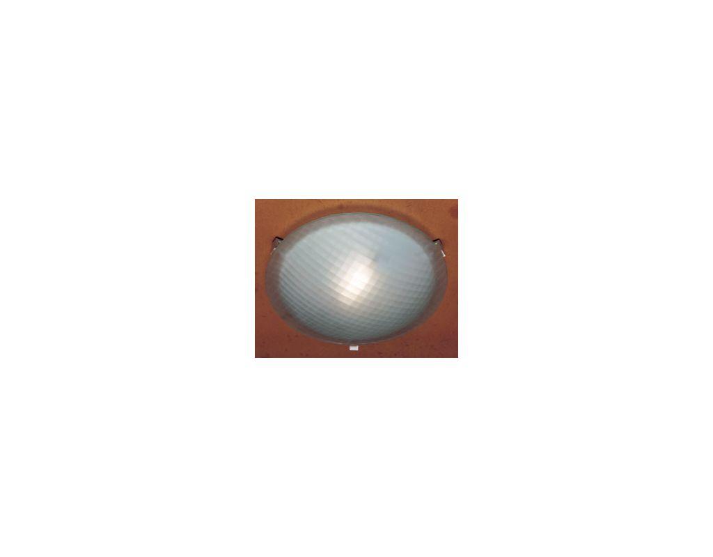 PLC Lighting 6512 Polished Chrome Contemporary Valencia Ceiling Light