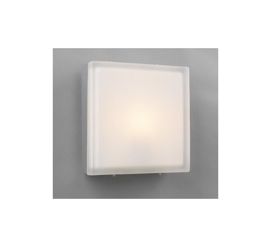PLC Lighting 6574 SN Satin Nickel Contemporary Praha Wall Sconce