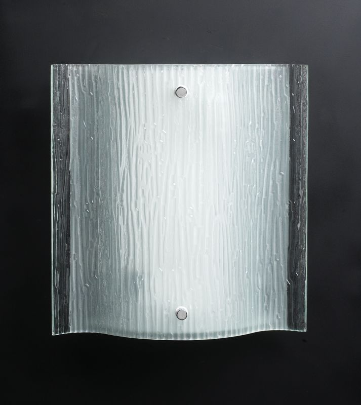 PLC Lighting 7536 PC Polished Chrome Contemporary Leela Wall Sconce
