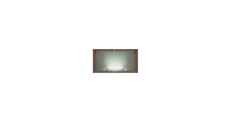 PLC Lighting 12124 PC Polished Chrome Contemporary Contempo Wall Light
