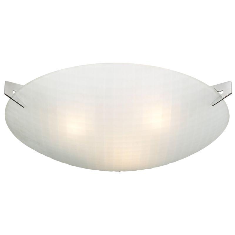 PLC Lighting 12146 Polished Chrome Contemporary Contempo Ceiling Light