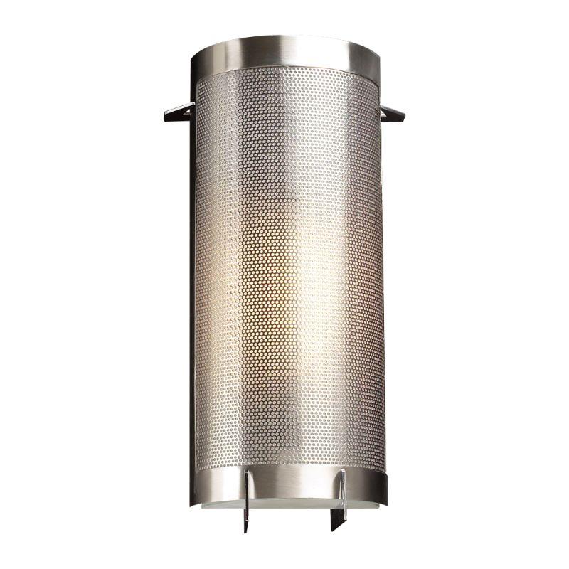 PLC Lighting 1666 SN Satin Nickel Contemporary Girasole Wall Sconce