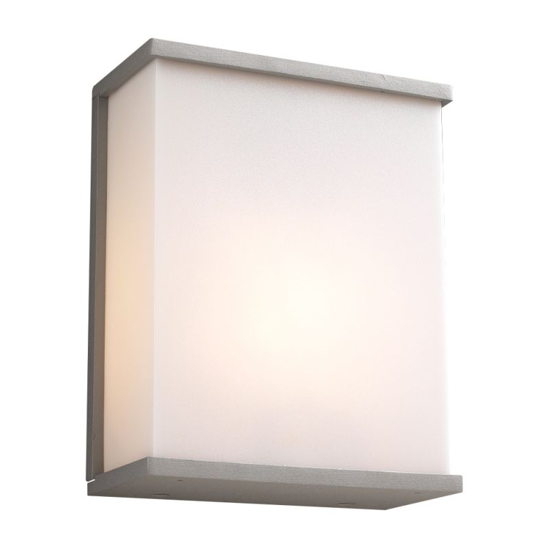 PLC Lighting 1723 SL Silver Contemporary Pinero Wall Sconce