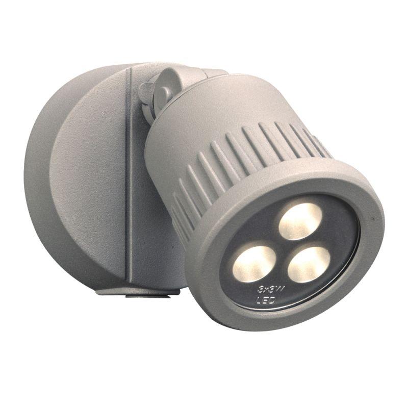 "PLC Lighting 1763 3 Light 4"" Wide LED Flood Lights from the Ledra"