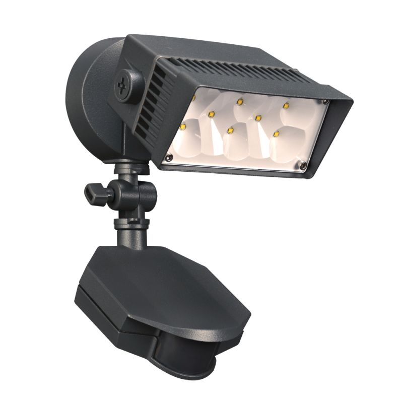 "PLC Lighting 1767 8 Light 6"" Wide LED Flood Lights from the Zonyx"