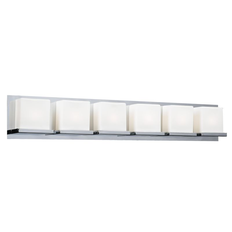 PLC Lighting 18156 Polished Chrome Contemporary Furlux Bathroom Light