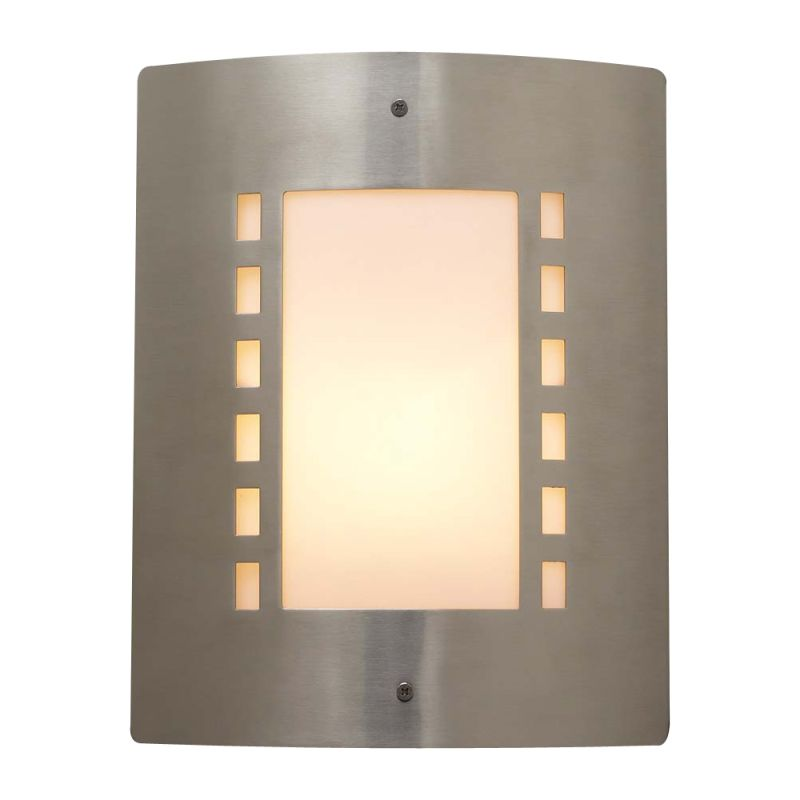 PLC Lighting 1873 SN Satin Nickel Contemporary Paolo Wall Sconce