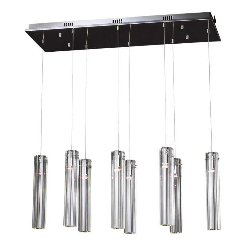 PLC Lighting 21185 PC Polished Chrome Contemporary Segretto Pendant