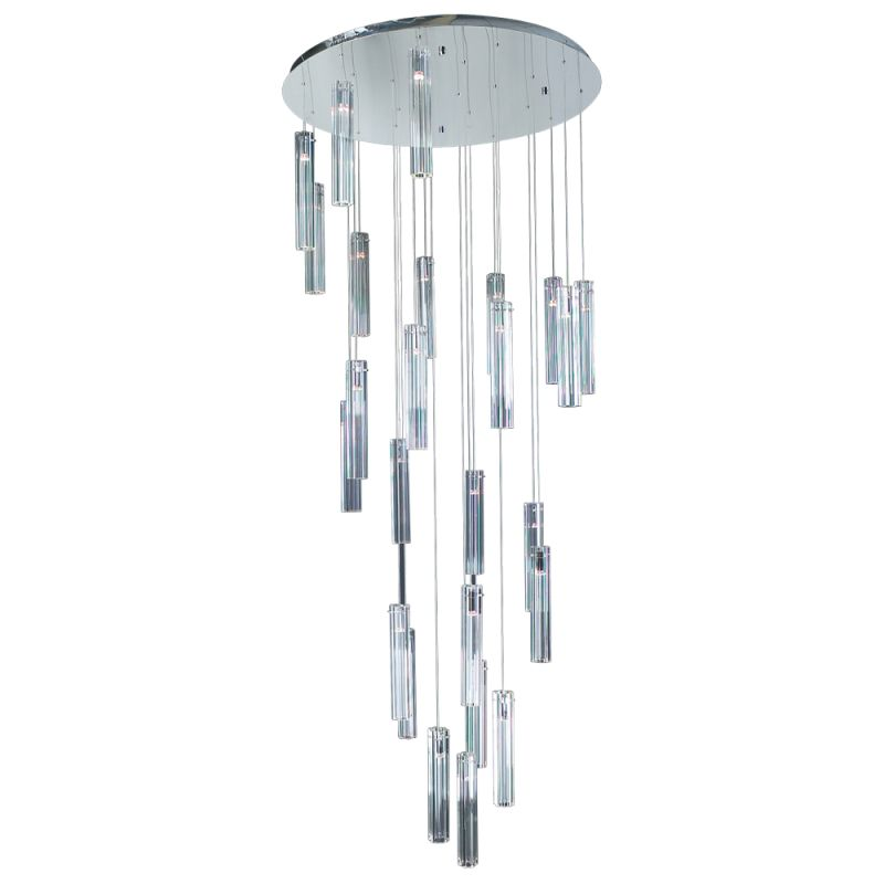 PLC Lighting 21188 PC Polished Chrome Contemporary Segretto Chandelier Sale $2400.00 ITEM: bci1605831 ID#:21188 PC :