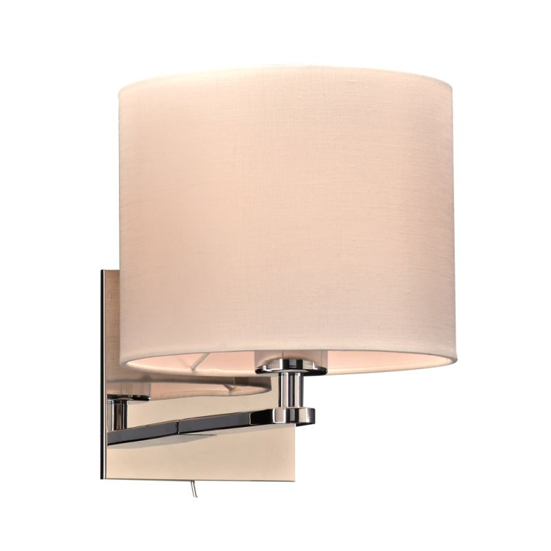 """PLC Lighting 24218 1 Light 8"""" Wide Wall Sconce from the Ashland"""