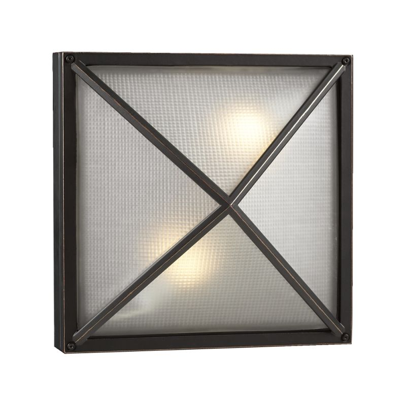 PLC Lighting PLC 31700 Two Light Outdoor Wall Sconce from the Danza