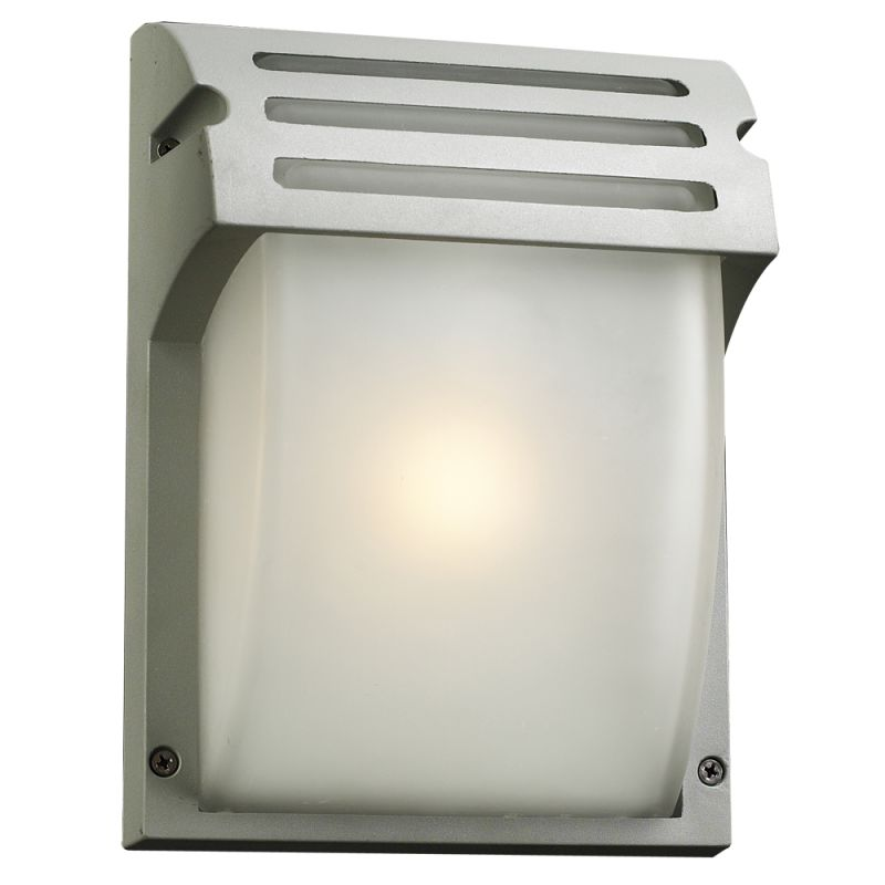 PLC Lighting 3607 SL Silver Contemporary Moser Wall Sconce
