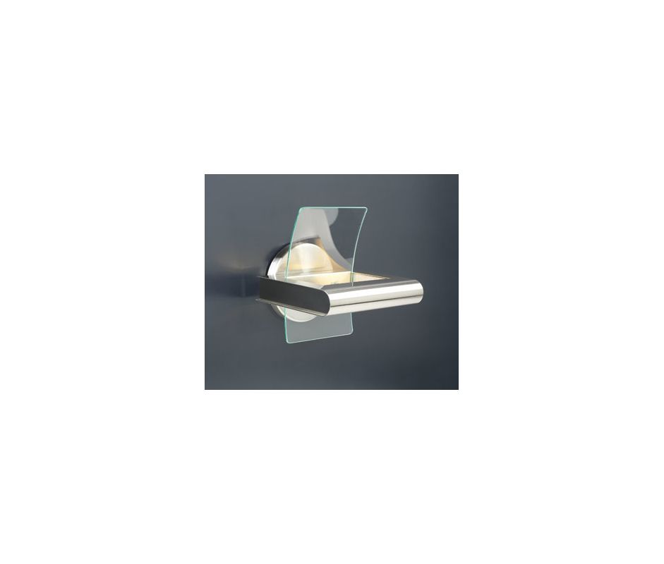 PLC Lighting 6443 SN Satin Nickel Contemporary Patrick Wall Sconce