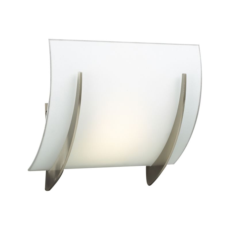 PLC Lighting 6559 SN Satin Nickel Contemporary Lisette Wall Sconce