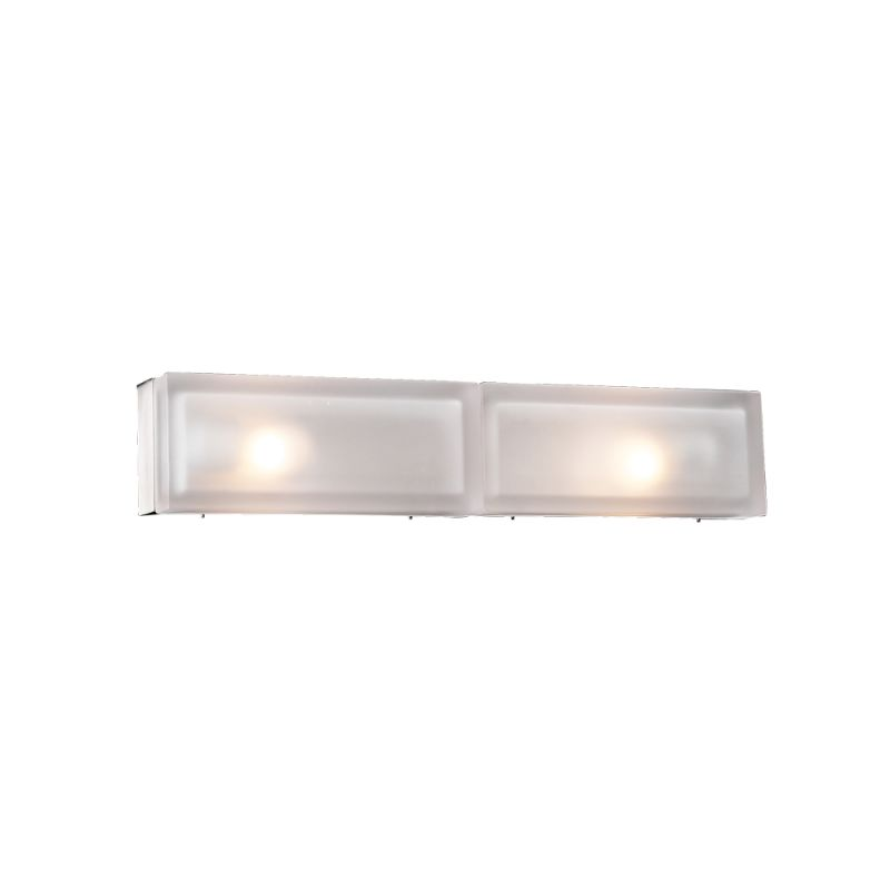 PLC Lighting 6578 SN Satin Nickel Contemporary Praha Bathroom Light