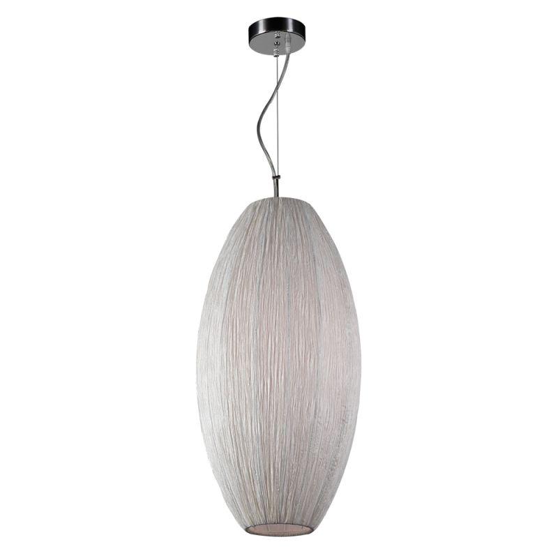 PLC Lighting 73016 Ivory Ivory Contemporary Melrose Pendant