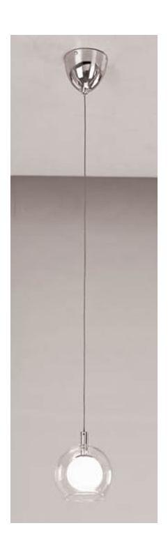 PLC Lighting 86612 SN Satin Nickel Contemporary Hydrogen Pendant