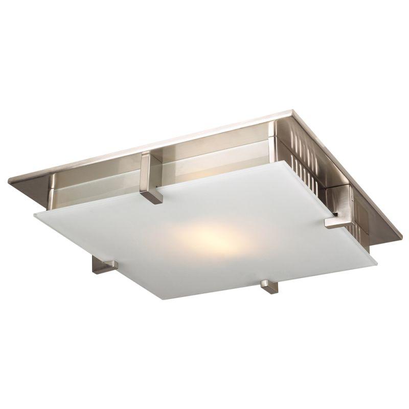 PLC Lighting 904 SN Satin Nickel Contemporary Polipo Ceiling Light Sale $156.00 ITEM: bci1605685 ID#:904 SN :