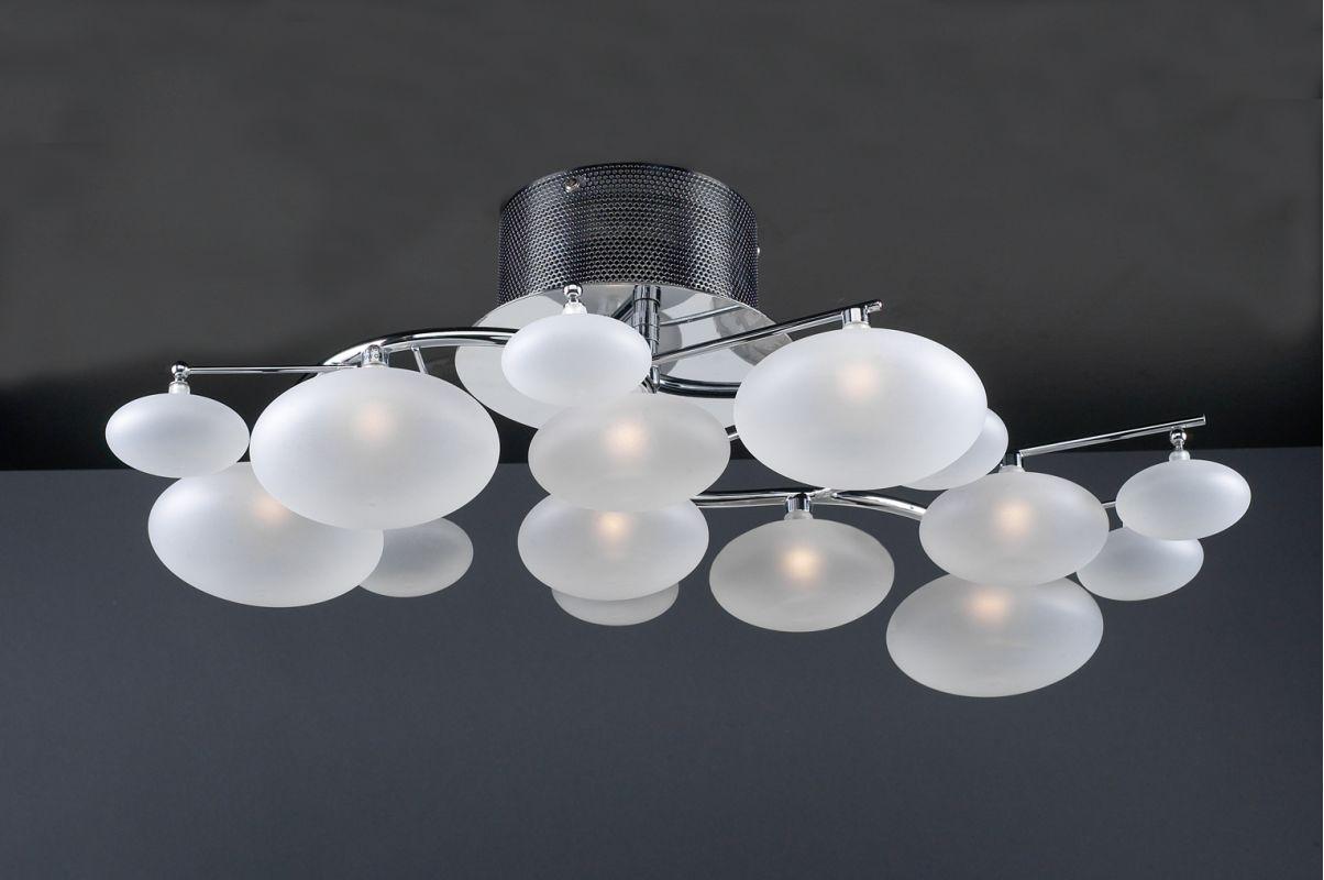 PLC Lighting 96942 Polished Chrome Contemporary Comolus Ceiling Light Sale $590.00 ITEM: bci1605983 ID#:96942 PC UPC: 736211276087 :