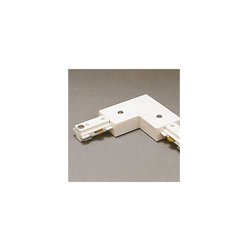 PLC Lighting TR2131 Track Two-Circuit L-Shaped Connector White Indoor Sale $16.00 ITEM: bci2946670 ID#:TR2131 WH :