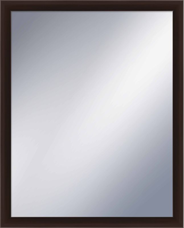 PTM Images 5-1229 31 Inch x 25 Inch Rectangular Framed Mirror Espresso