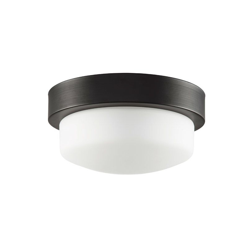 "Park Harbor PHFL4071 11"" Wide Single Light Flush Mount Ceiling Fixture Sale $70.03 ITEM: bci2852846 ID#:PHFL4071ORB UPC: 781889296585 :"