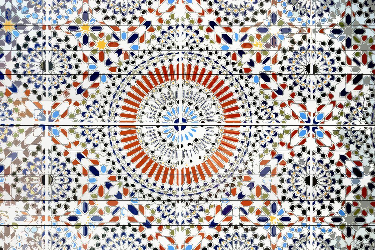 Parvez Taj Kortoba - White Wood Art Print on White Pine Wood 30 x 45 Sale $275.03 ITEM: bci2686090 ID#:13-66-WW-45 UPC: 701160405444 :