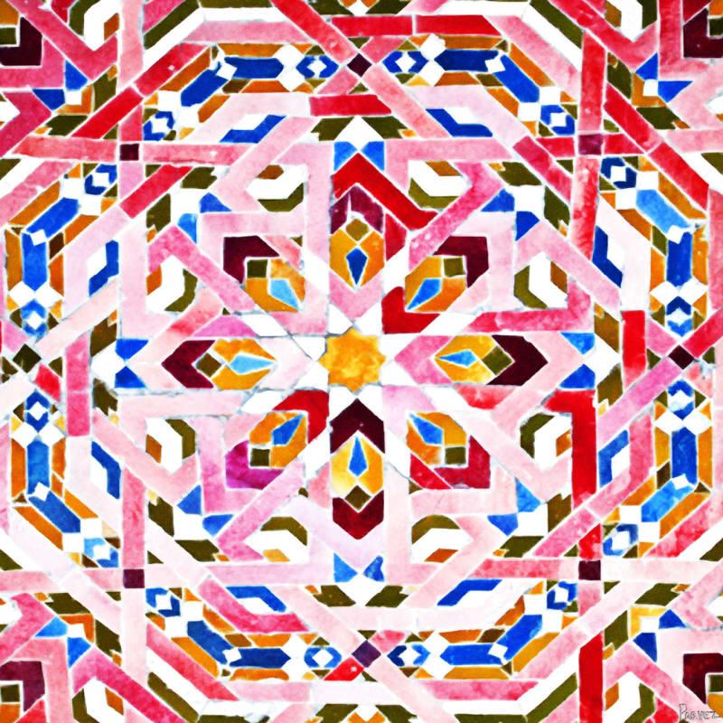 Parvez Taj Kasbah Art Print on Premium Canvas 48 x 48 Home Decor Sale $307.31 ITEM: bci2682394 ID#:F12-RC04-C-48 UPC: 852659933396 :
