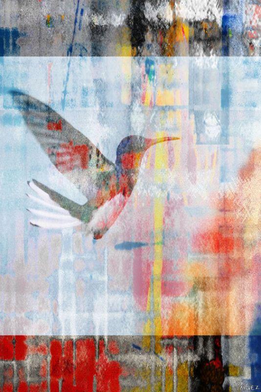 Parvez Taj Access Subconscious Art Print on Premium Canvas 18 x 12