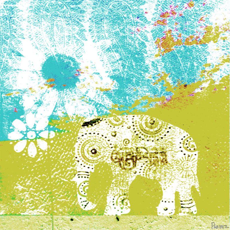 Parvez Taj Udaipur Art - Print on Premium Canvas Art Print on Premium