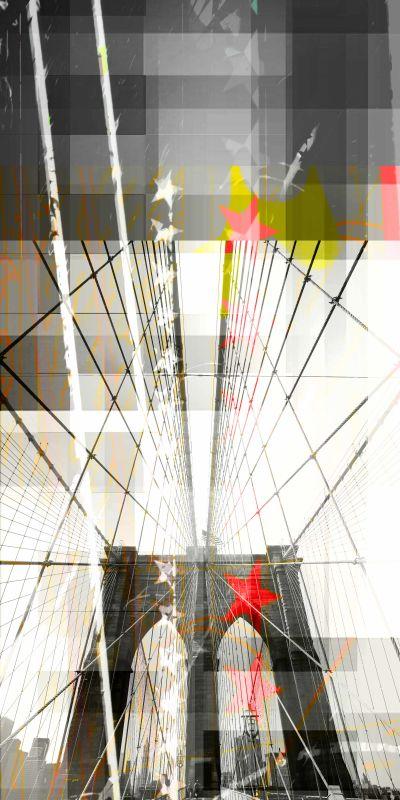 Parvez Taj Brooklyn Art Print on Premium Canvas 45 x 22.5 Home Decor Sale $161.03 ITEM: bci2682512 ID#:G26-02-C-45 UPC: 700064366028 :