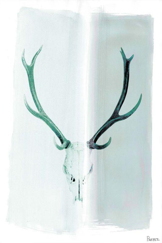 Parvez Taj Head Gear Art Print on Premium Canvas 18 x 12 Home Decor