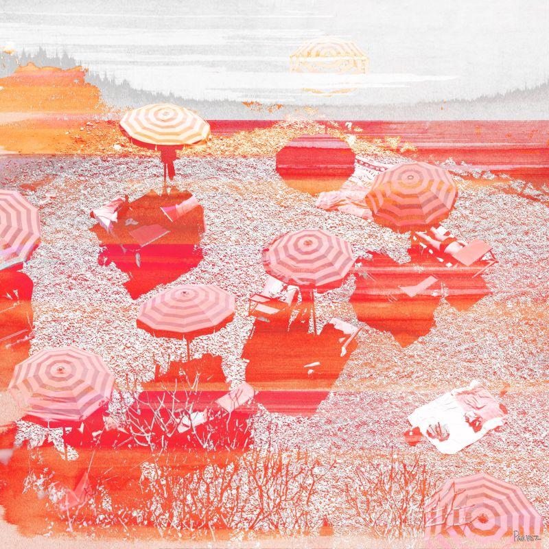 Parvez Taj La Caravella Art Print on Premium Canvas 24 x 24 Home Decor