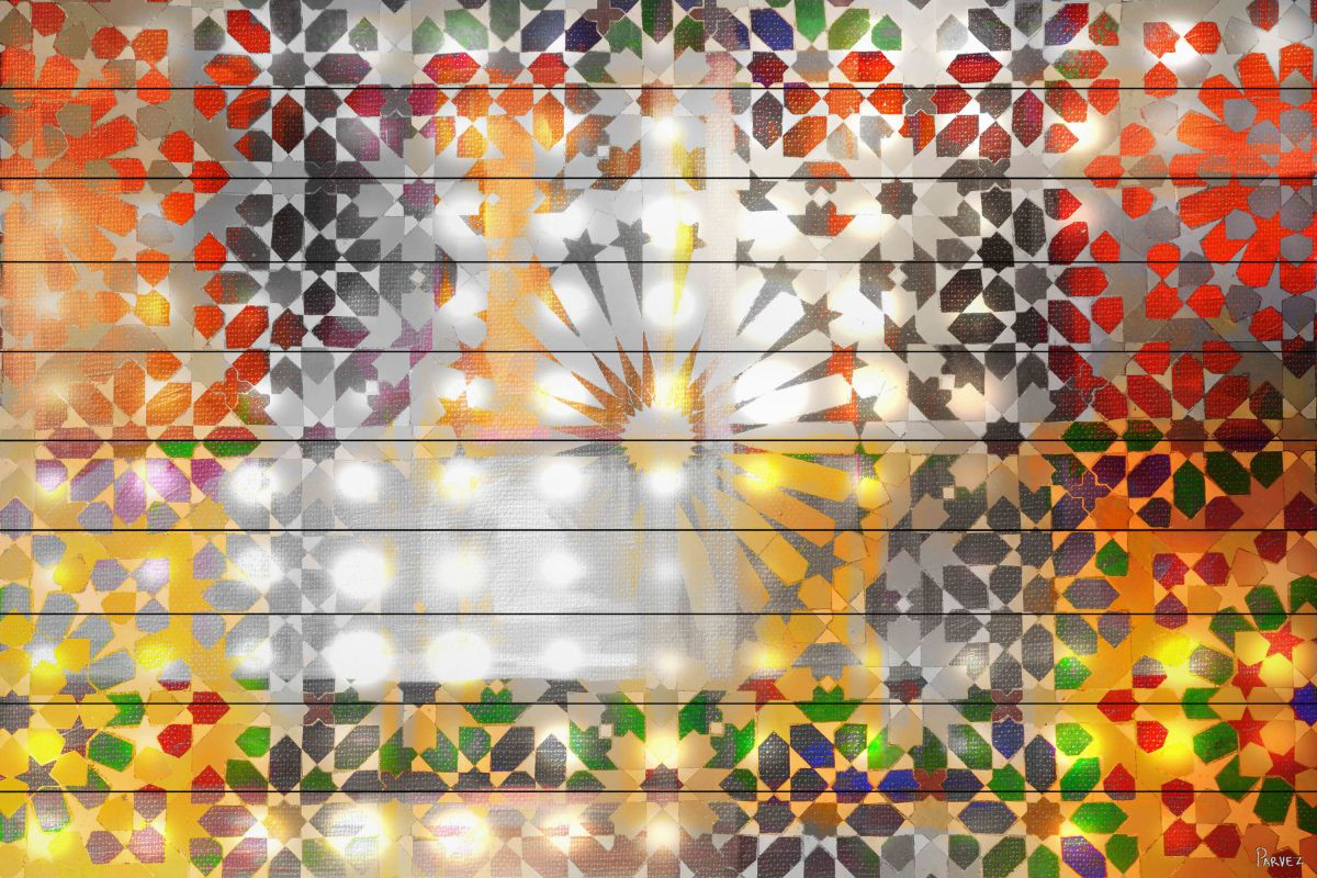 Parvez Taj Marrakesh Nights - White Wood Art Print on White Pine Wood Sale $275.03 ITEM: bci2686204 ID#:NL-07-WW-45 UPC: 701160400814 :