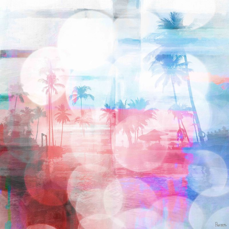 Parvez Taj Paradise Found Art Print on Premium Canvas 48 x 48 Home Sale $283.10 ITEM: bci2686361 ID#:NL-15-C-48 UPC: 700064388396 :