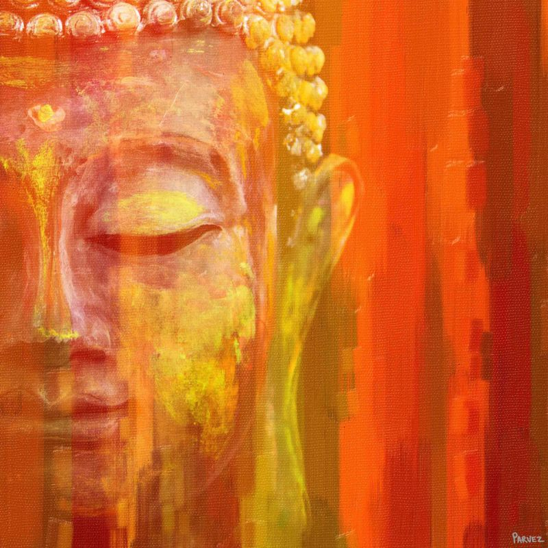 Parvez Taj Buddha - on Canvas Art Print on Premium Canvas 32 x 32 Home Sale $161.15 ITEM: bci2720027 ID#:PTHL36-03-C-32 UPC: 700064380543 :