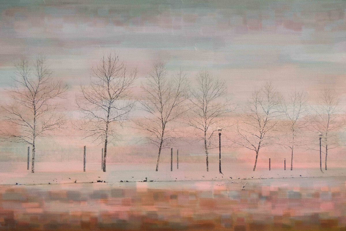 Parvez Taj Pink Horizon Art Print on Premium Canvas 40 x 60 Home Decor Sale $275.03 ITEM: bci2686390 ID#:PTNOV-138-C-60 UPC: 708191045793 :