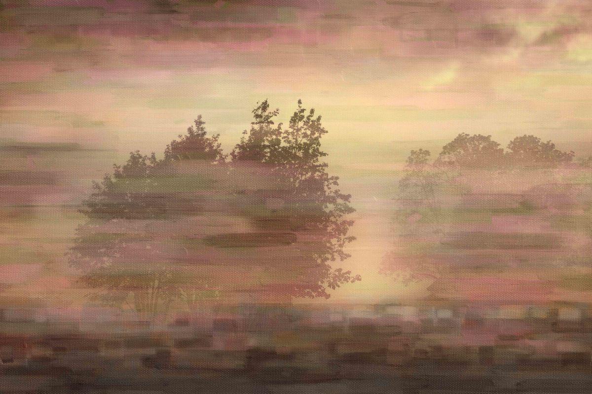 Parvez Taj Muted Landscape Art Print on Premium Canvas 24 x 36 Home Sale $113.53 ITEM: bci2686252 ID#:PTNOV-187-C-36 UPC: 708191046318 :