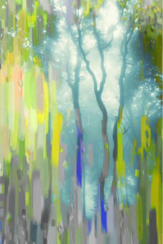Parvez Taj Painted Tree Forest Art Print on Premium Canvas 18 x 12 Sale $66.03 ITEM: bci2686337 ID#:PTNOV-43-C-18 UPC: 708191046981 :