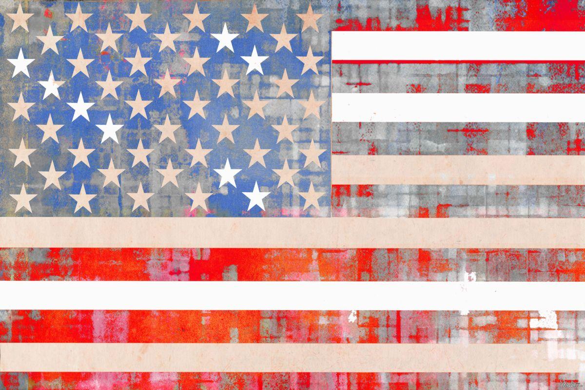 Parvez Taj American Dream Art Print on Premium Canvas 16 x 24 Home Sale $70.79 ITEM: bci2685474 ID#:S13-269-C-24 UPC: 700064364239 :