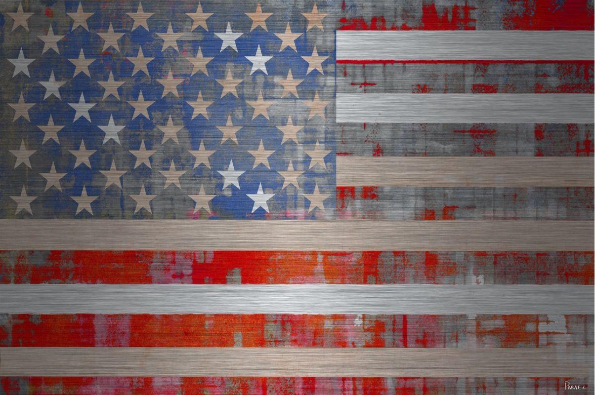 Parvez Taj American Dream - Metal Art Print on Brushed Aluminum 24 x Sale $168.86 ITEM: bci2685480 ID#:S13-777-AL-36 UPC: 701160403143 :