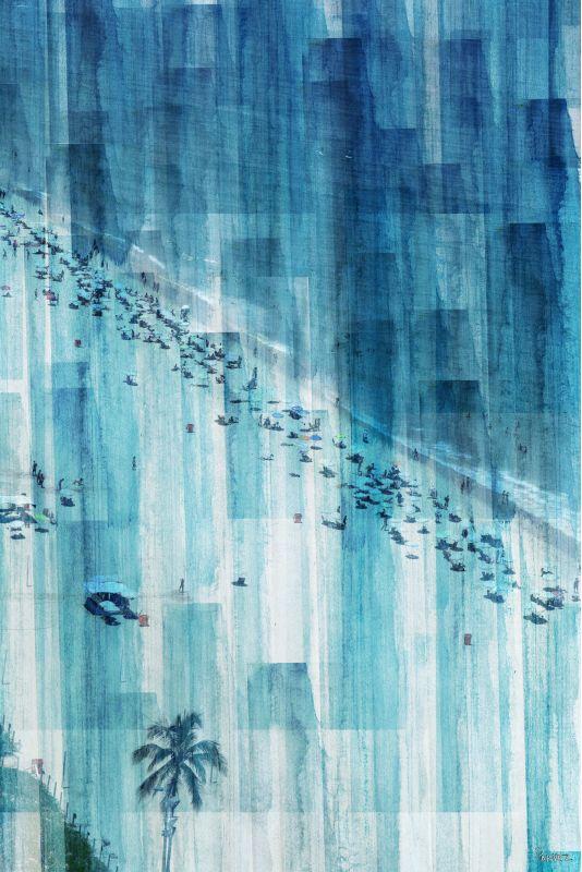 Parvez Taj Rio Graphic Art Print on Premium Canvas 24 x 16 Home Decor