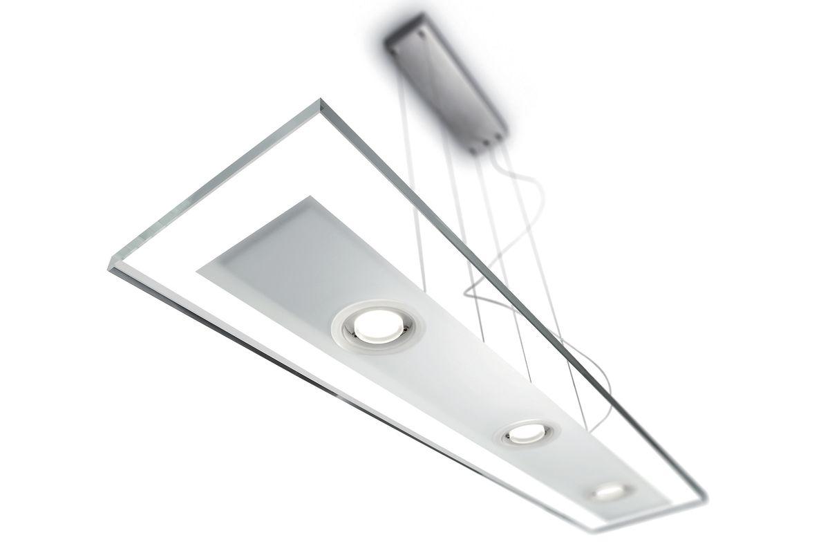 Philips 47346 Vidro 3 Light LED Island / Billiard Fixture Brushed Sale $650.00 ITEM: bci2215048 ID#:473464848 UPC: 46677796839 :