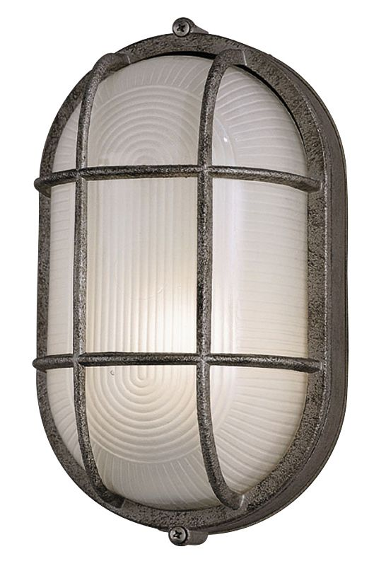 Philips F9079565NV Oceanview 1 Light Outdoor Wall Sconce Silver Rust Sale $50.00 ITEM: bci2360545 ID#:F9079565NV UPC: 742546018391 :