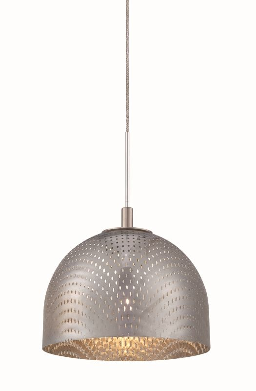 Philips FA0088836 Mesh 1 Light LED Mini Pendant Satin Nickel Indoor
