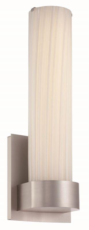 Philips FL0013836 Milano 1 Light Wall Sconce Satin Nickel Indoor