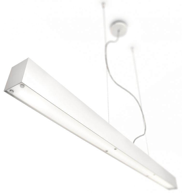 Philips 40341 Ecomoods Fluorescent Island Chandelier White Indoor