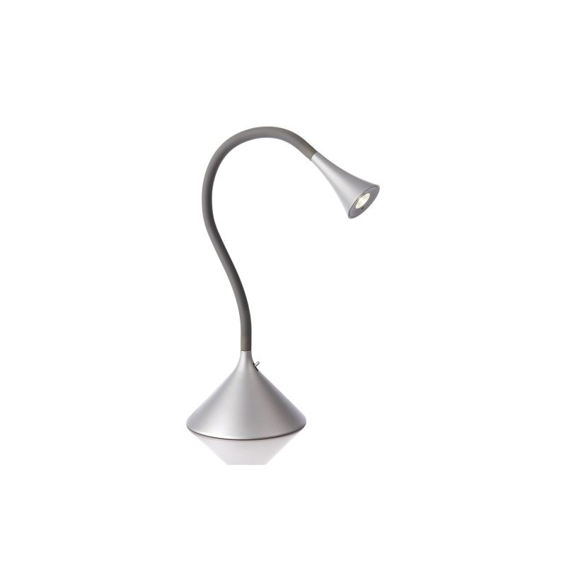 Philips 66703 Ledino 1 Light LED Table Lamp Grey Lamps Gooseneck Lamps